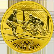 Монеты ЦБ РФ золото